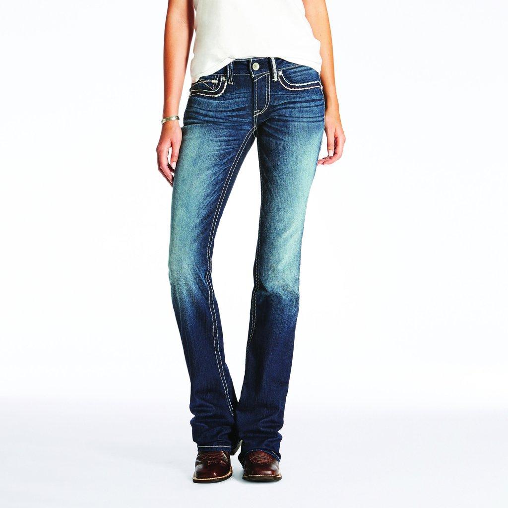 Ariat R.E.A.L Dakota Black Knight Boot Cut Jean