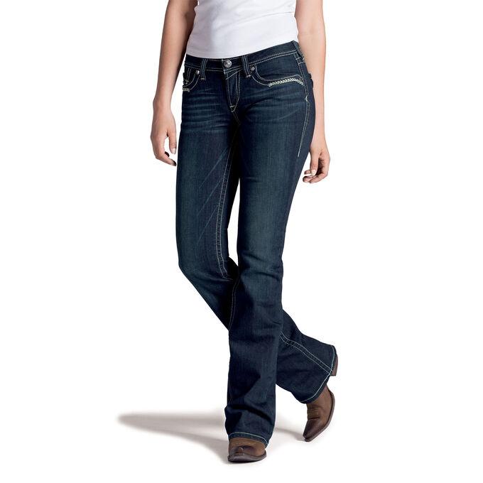 Ariat M5 Slim Tuquoise Prairie Flap Jean