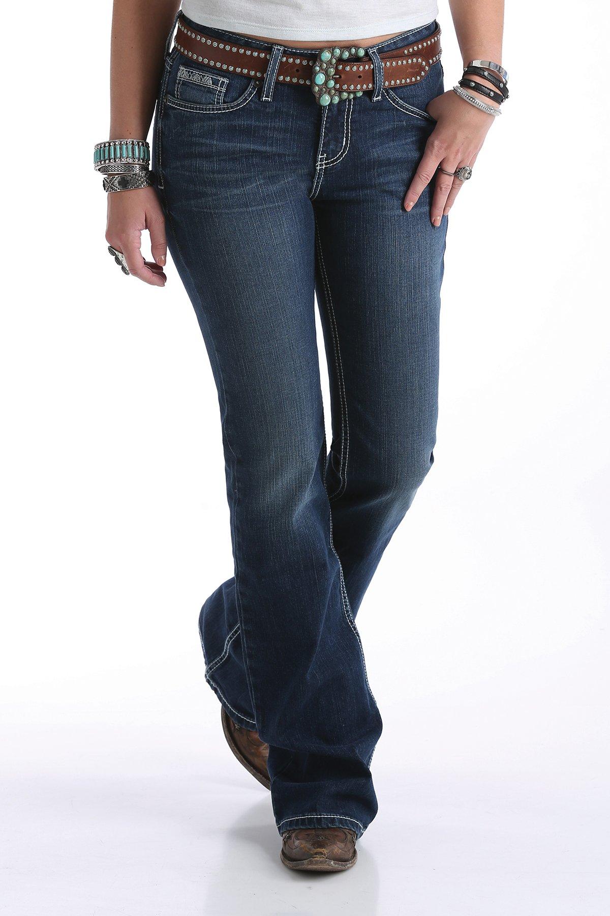 Cruel Denim Hannah Flare Leg Jean- Medium Stone Jean